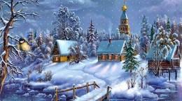 Lasten joulujuhlakuva