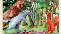 lasten joulujuhla karhukuva